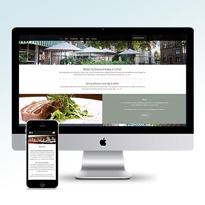 Restaurant Kawop Website