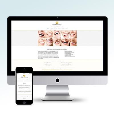 Keizers Mondzorg Website