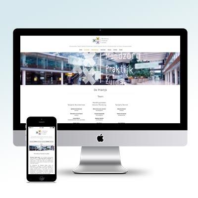 Mondzorg Praktijk Zuidas Website