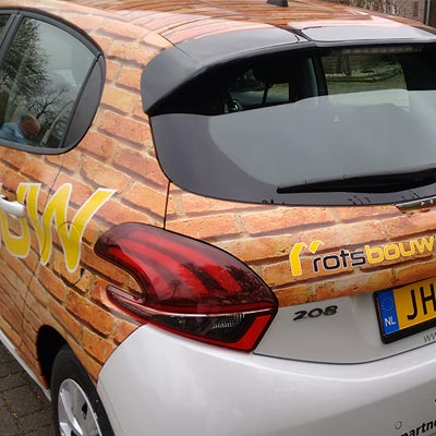 Rotsbouw carwrapping